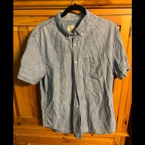 American Eagle Outfitters Blue Denim shirt #2